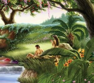 Adam & Eve at creation