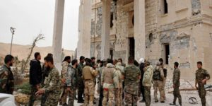 Army at Palmyra Castle