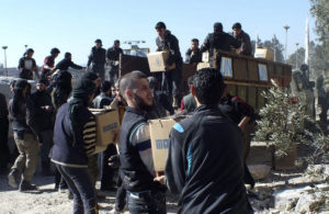 Humanitarian aid in Syria helps prevail against ISIS