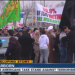 Demonstration in Dearborn